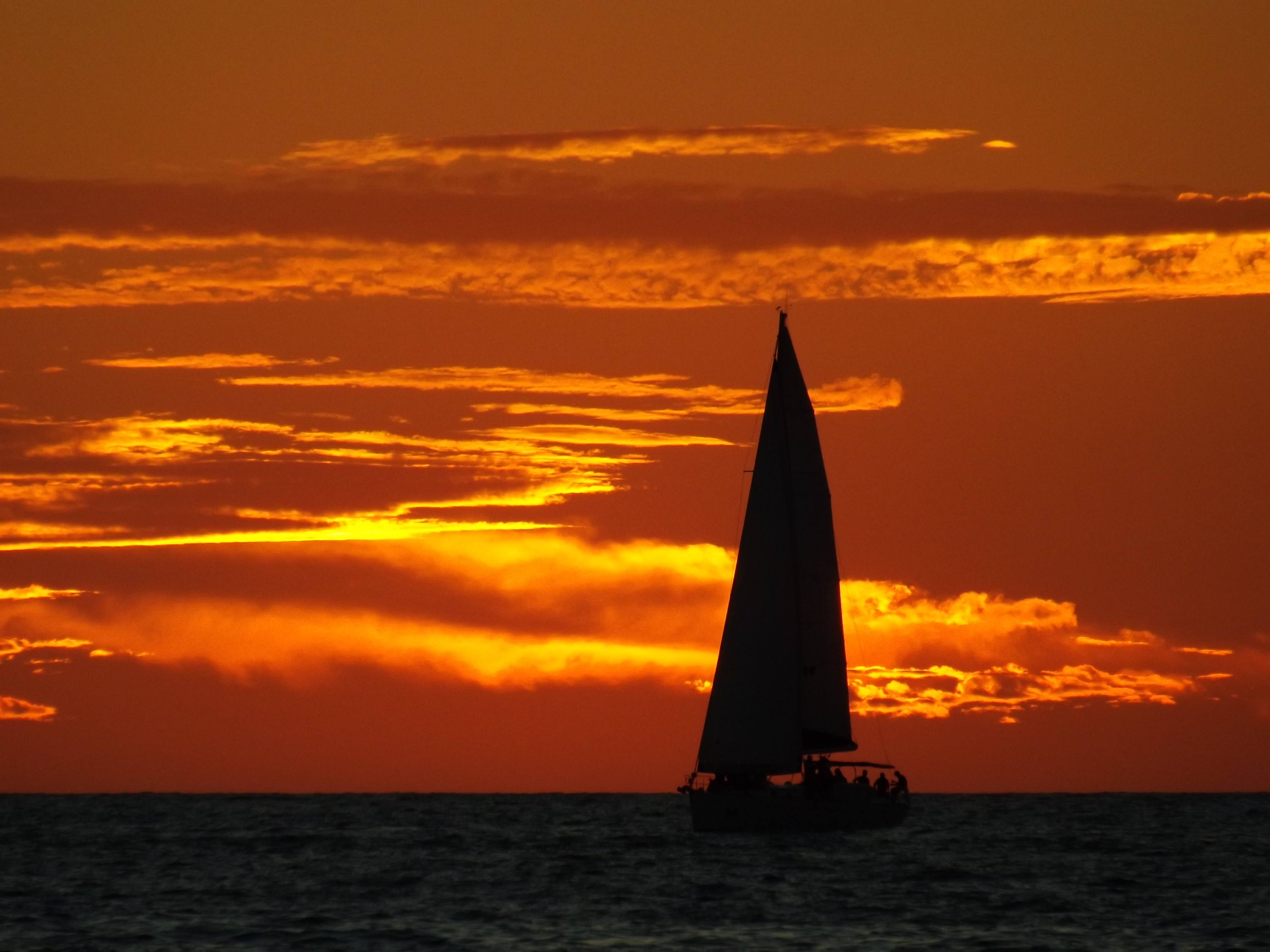 Sunset sailing - Mexico