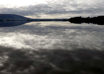 I.O.T.W.20-7-15 Reflected clouds in Otago harbour