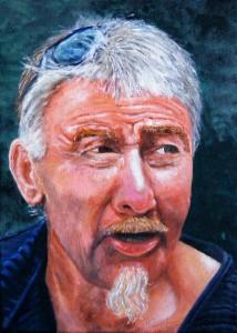 Portrait of Warren 5x7